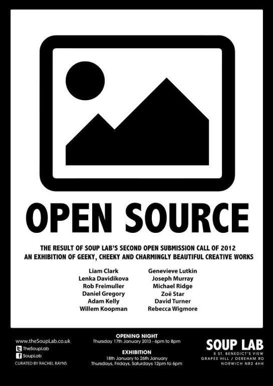 Soup Lab Exhibition Poster