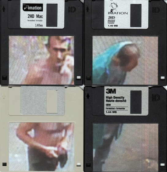 Scan of all Four Floppy Disks